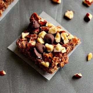 Coconut Oil Chocolate Hazelnut Squares Recipe