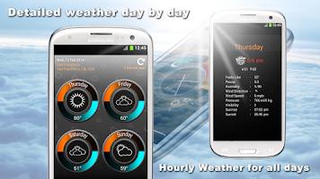Screenshot of Weather Clock