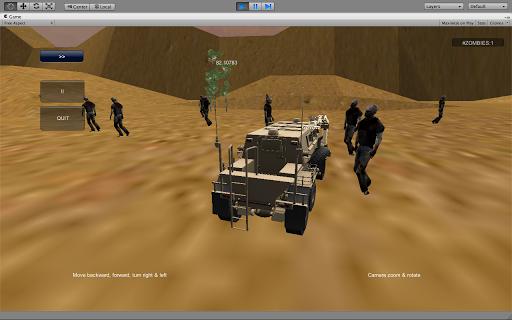 【免費賽車遊戲App】Zombie Racing Middle East-APP點子