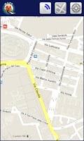 Screenshot of Dubai offline map