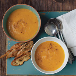 Roasted Carrot and Parsnip Soup.