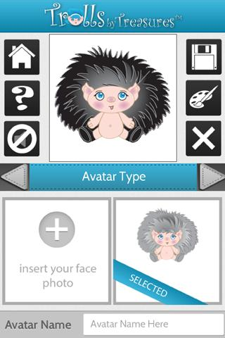 【免費休閒App】Trolls Treasures Avatar Maker-APP點子