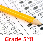 5~8th Grade Math Test Free