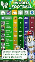 Screenshot of QuizTix: World Football Quiz