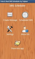 Screenshot of Fake & Real SMS Scheduler
