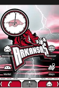 Arkansas Razorbacks Theme - screenshot thumbnail