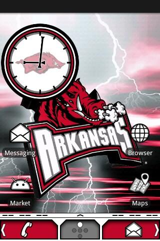 Arkansas Razorbacks Theme - screenshot