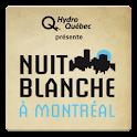 Nuit blanche à Montréal 2013 logo