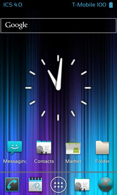 ICS Launcher + - screenshot