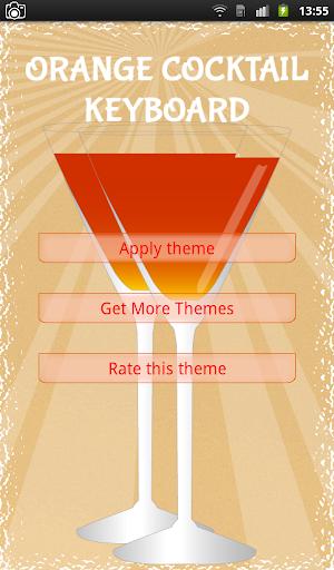 Orange Cocktail Keyboard