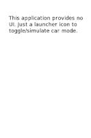 Screenshot of Car Mode Control