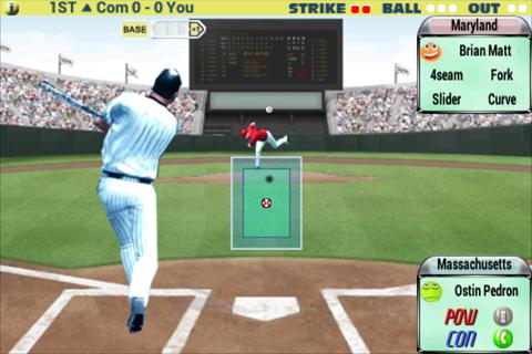 Batter VS Pitcher 2012 - screenshot