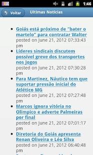 Esportes Notícias Mobile - screenshot thumbnail