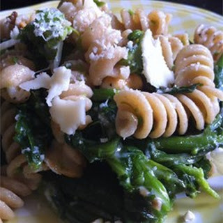 Rapini-Walnut Macaroni