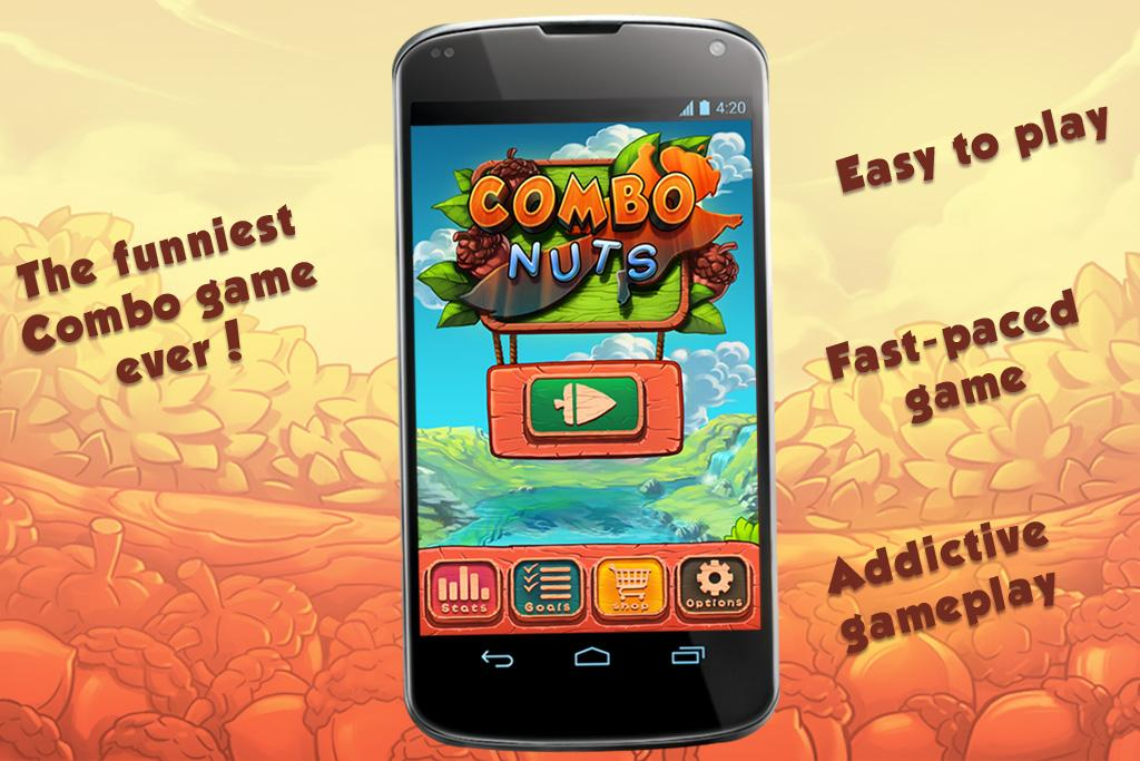 Combo Nuts- screenshot