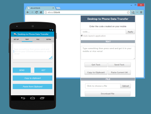 Desktop to Phone Easy Transfer