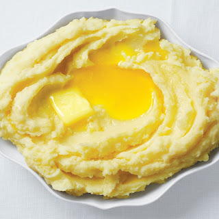 Extra-Buttery Mashed Potatoes.