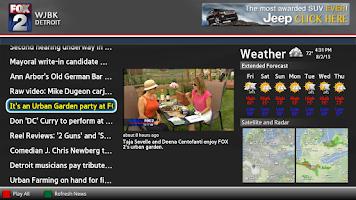 Screenshot of MY FOX Detroit News