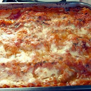 Deadly Delicious Lasagna.