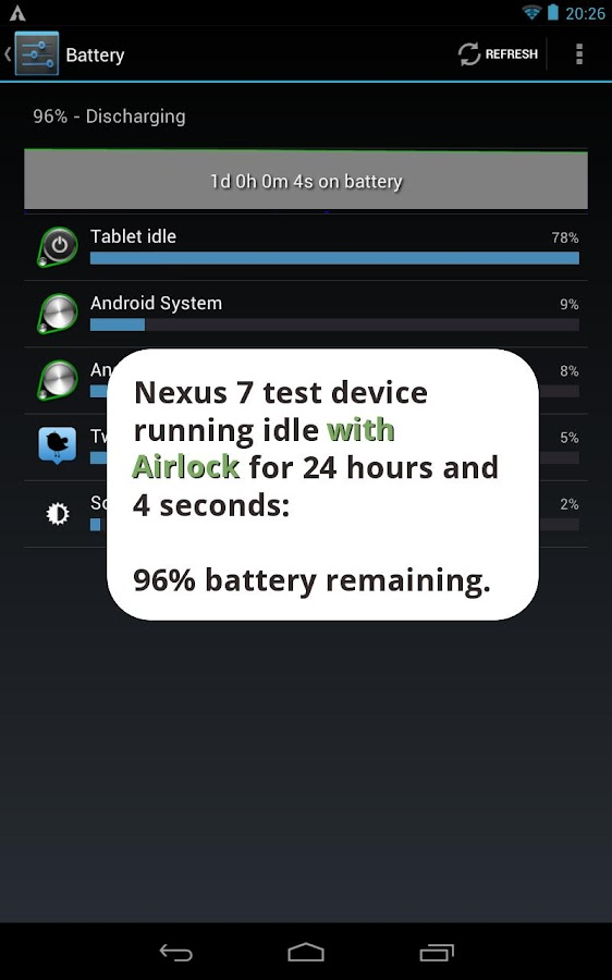 Airlock - Battery Saver Trial- screenshot