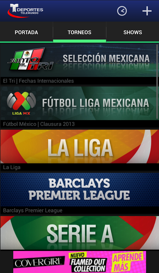 Deportes Telemundo - screenshot