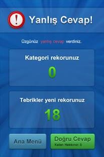 Bilgi Yarışı- screenshot thumbnail