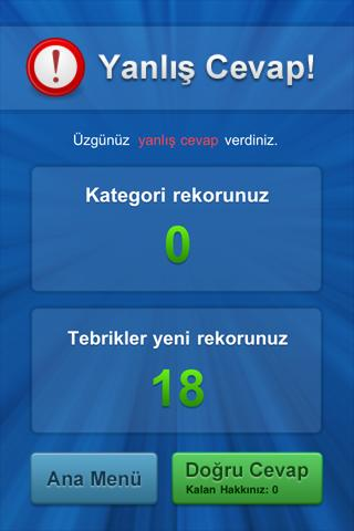 Bilgi Yarışı- screenshot