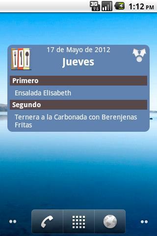 Comedores Universitarios GR - screenshot