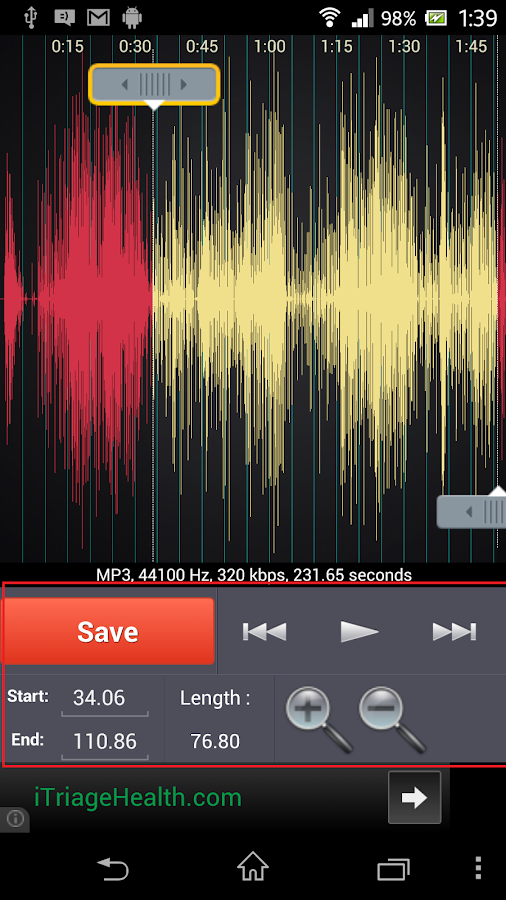 Ringtone Maker ( Mp3 Cutter) - screenshot