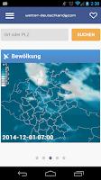 Screenshot of Wetter-DE
