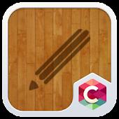 Wood Line C Launcher Theme