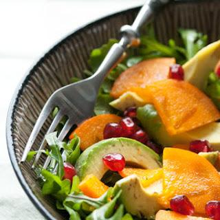 Persimmon and Avocado Salad.