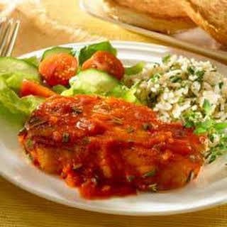 Braised Pork Chops In Tomato Sauce.