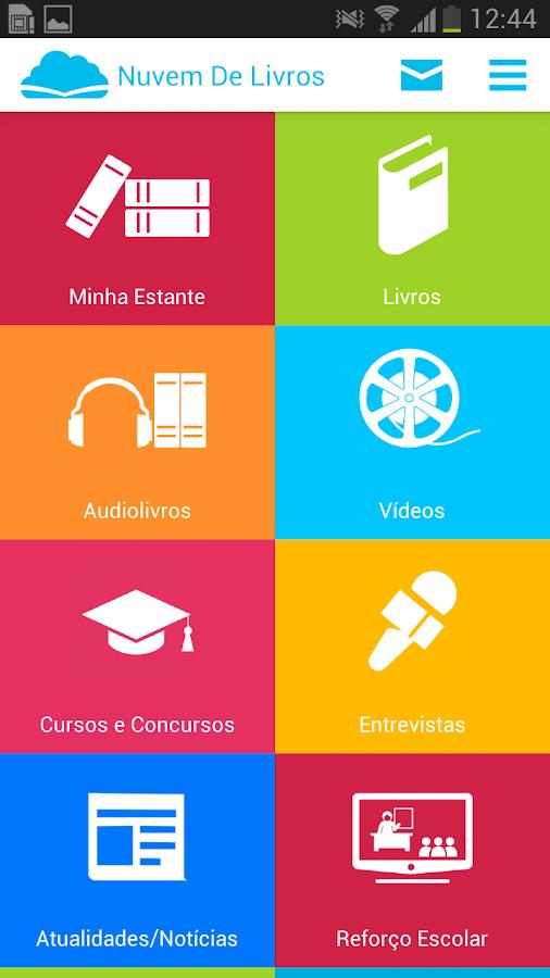 Nuvem de Livros - screenshot