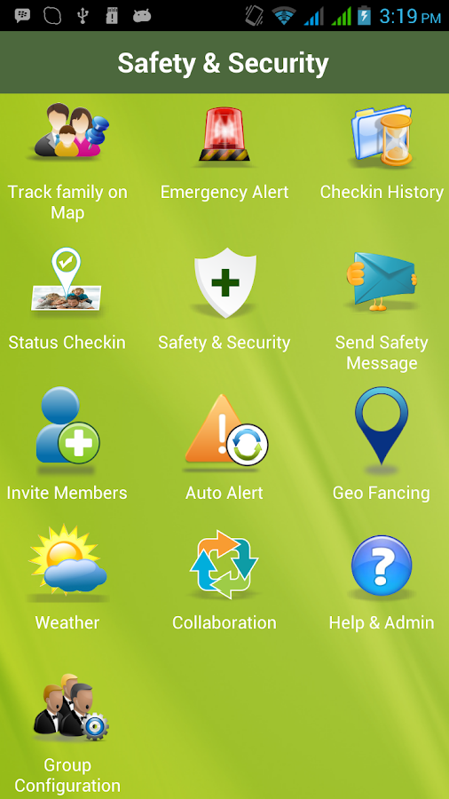 Rapid Protect Family Tracker - screenshot