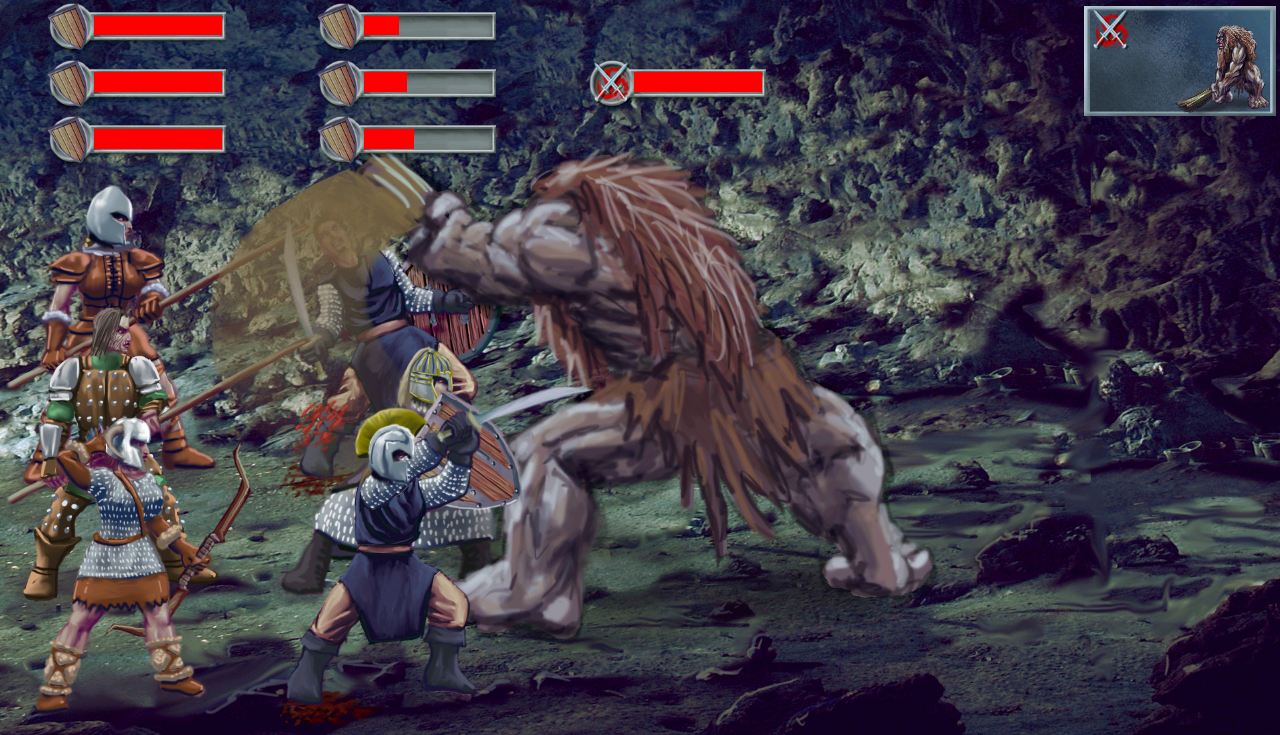 TOI:Fallen Knight (RPG) - screenshot