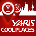 Yaris Cool Places logo