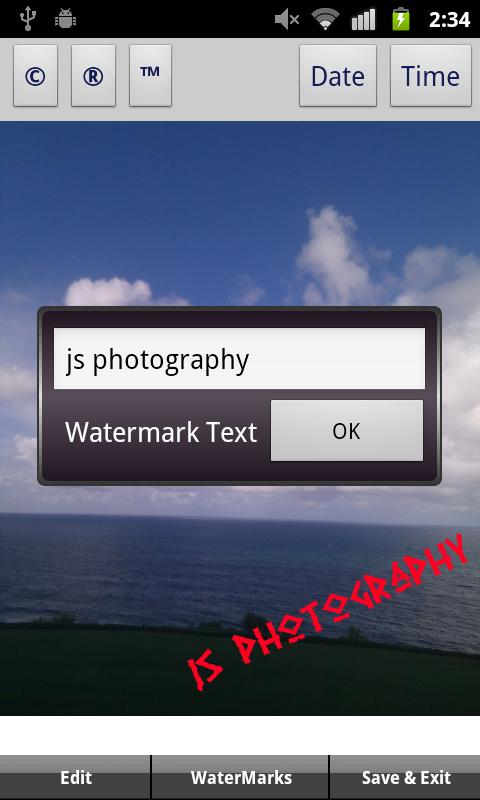 iWatermark - screenshot