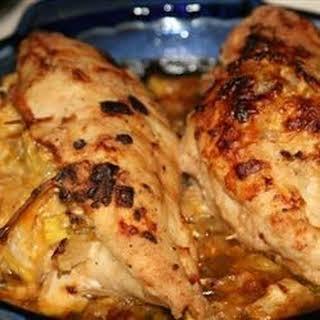 Squash Stuffed Chicken Breasts.