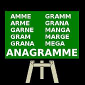 Anagramm Wort Quiz - Deutsch