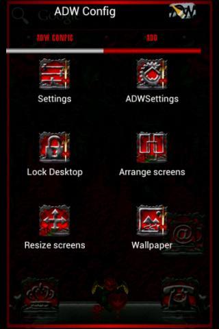 玩個人化App|ADWTheme紅色黑色哥特之心免費|APP試玩