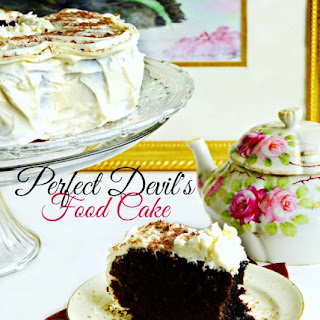 Perfect Devil's Food Cake