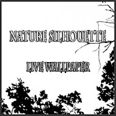 Nature silhouette wallpaper