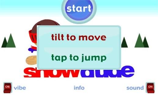 Snow Dude- screenshot thumbnail