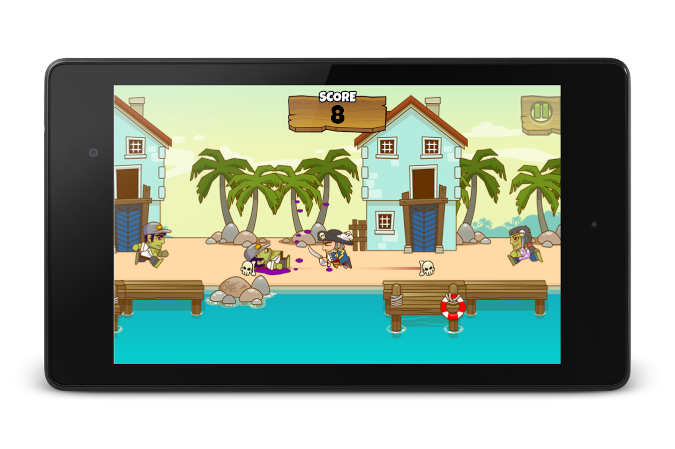 Yarrrr! (Pirates vs Zombies)- screenshot