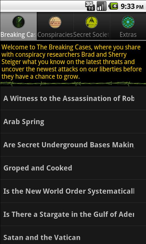 Conspiracies: Breaking Cases- screenshot