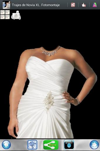 Vestido de Novia. Foto montaje