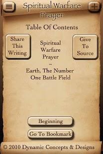 Spiritual Warfare Prayer - screenshot thumbnail