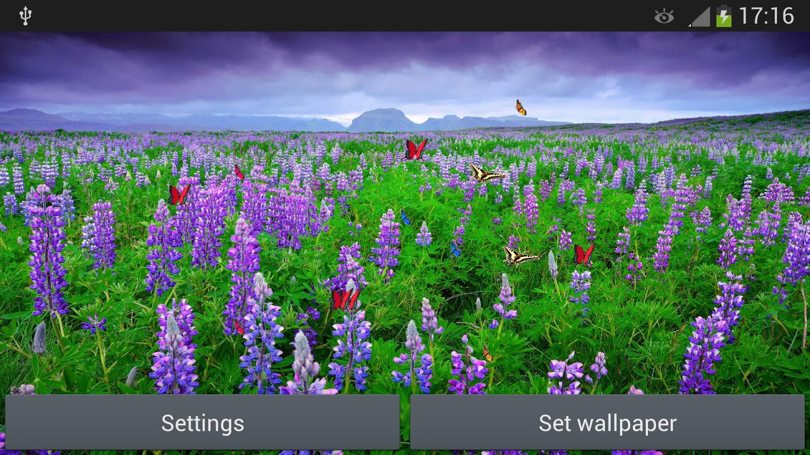 Sea Of Flowers - screenshot