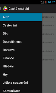 Czech Android - screenshot thumbnail